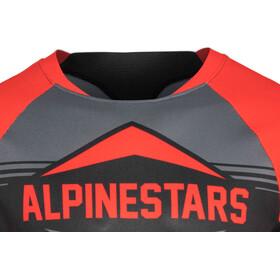 Alpinestars Mesa Lyhythihainen Jersey Miehet, red/steel gray